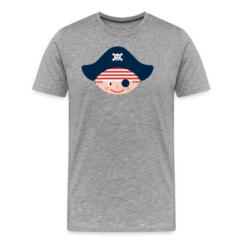 SP Logo Pirat only NEU - Männer Premium T-Shirt