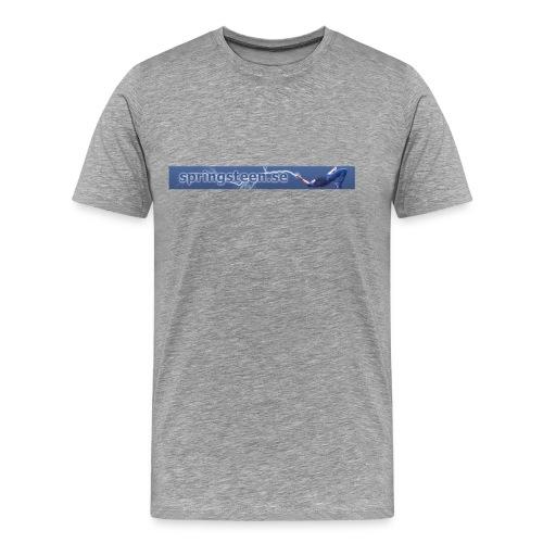 niklas testar nyckelband - Premium-T-shirt herr
