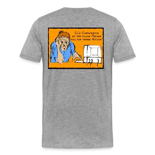 Computerjob - Männer Premium T-Shirt