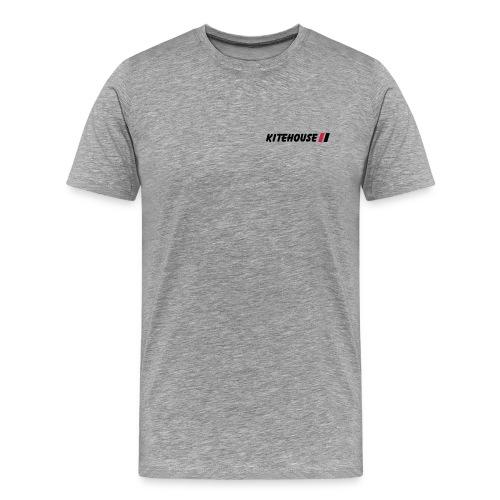 kitehouselogokleinneu - Männer Premium T-Shirt