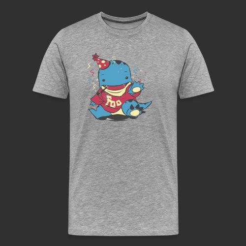 Quaggan Foostival 2015 Shirt vorne - Männer Premium T-Shirt