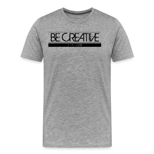 becreative tailored - Premium-T-shirt herr
