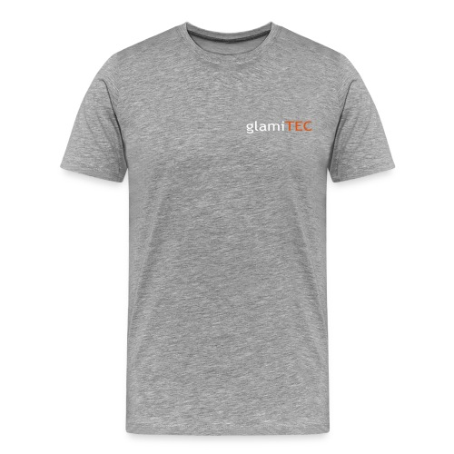 Glamitec Logo uten R - Premium T-skjorte for menn