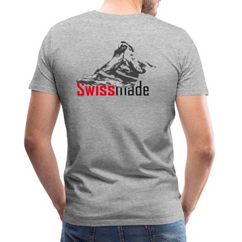 Swiss made logo - Männer Premium T-Shirt