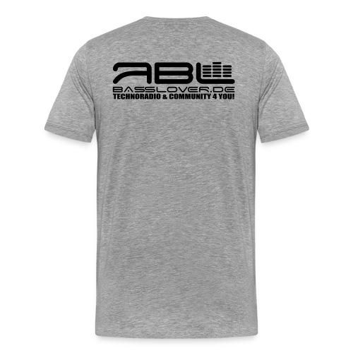 basslover Klein - Männer Premium T-Shirt
