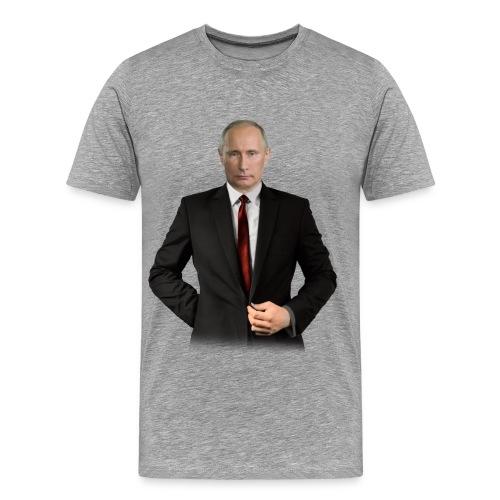 putin vorne klein png - Männer Premium T-Shirt