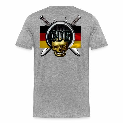 Crewlogogerman - Männer Premium T-Shirt