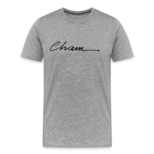 cham 3 logo - T-shirt Premium Homme