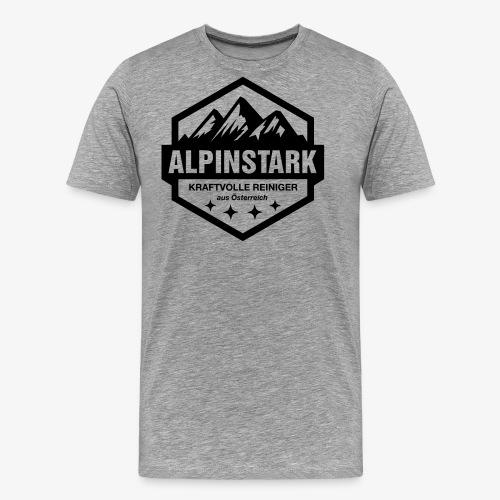 Alpinstark Logo klein - Männer Premium T-Shirt