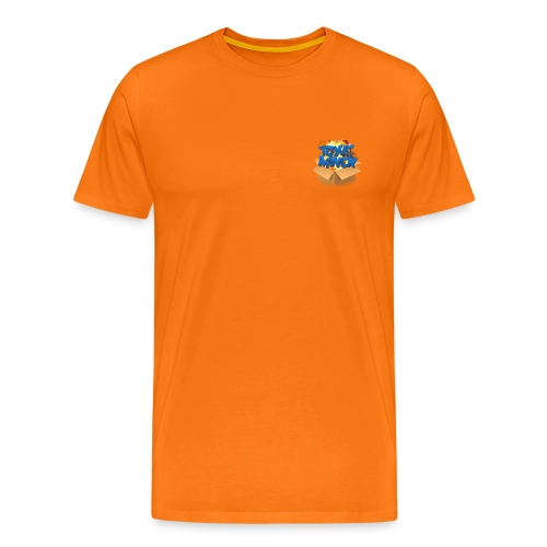ToxicMinerLogoTempv3 png - Men's Premium T-Shirt