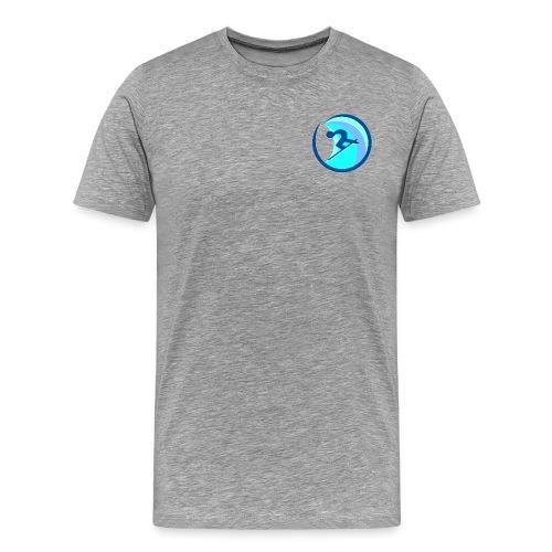 rrsurffimusta - Miesten premium t-paita
