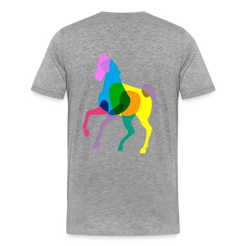 Heppa - Miesten premium t-paita