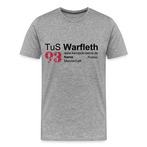 Fanshirt Front - Männer Premium T-Shirt