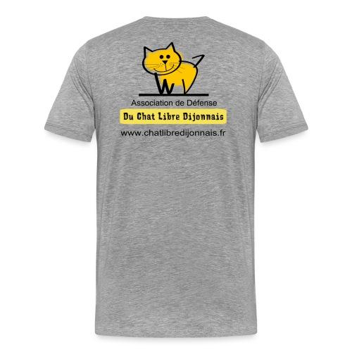 Transparent avec Logo - T-shirt Premium Homme