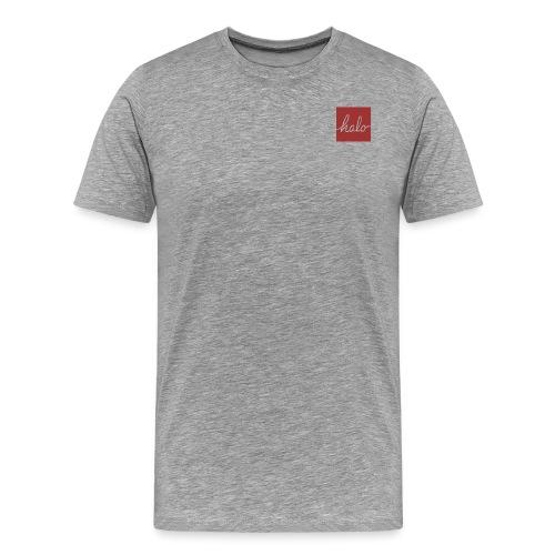 Halo Square Design - Men's Premium T-Shirt