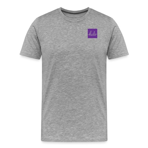 Halo Square Purple - Men's Premium T-Shirt