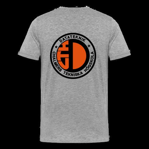 Datalogga för ljusa bakgrunder - Premium-T-shirt herr