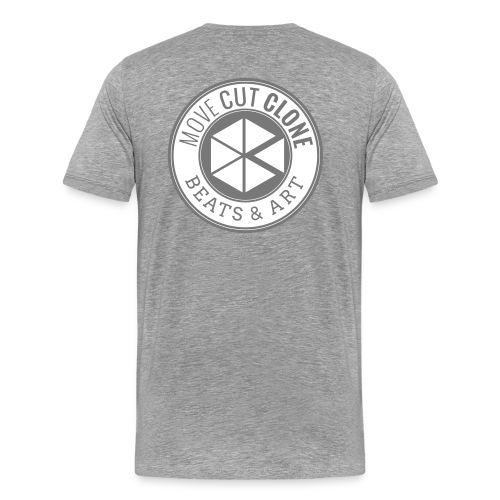 MCC Round Black - Men's Premium T-Shirt