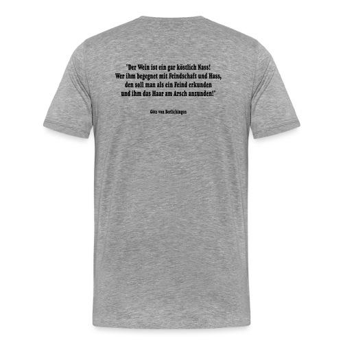 Bacchus 26 - Männer Premium T-Shirt