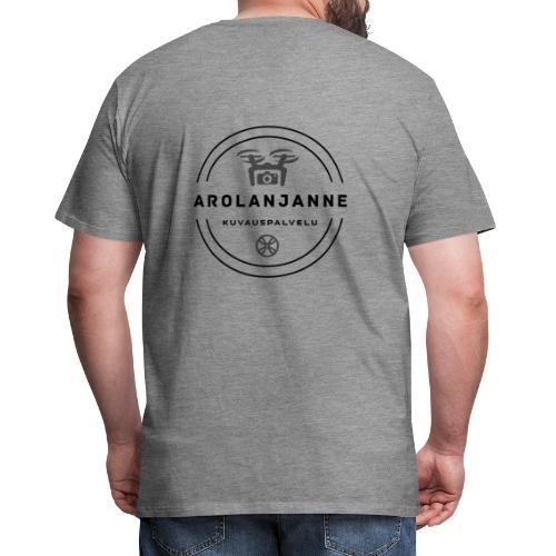 Janne Arola - kuva takana - Miesten premium t-paita