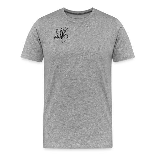 ehs autograph - Premium T-skjorte for menn