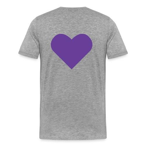 Social Frihet heart 1088x933 png - Premium-T-shirt herr