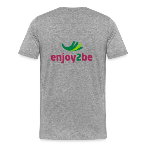 enjoy2be - Männer Premium T-Shirt