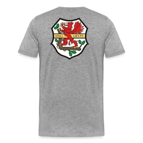 HSG Logo Rücken groß - Männer Premium T-Shirt