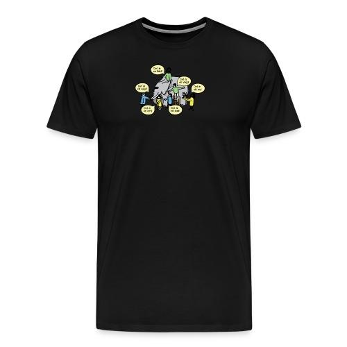 Upphandlingsdilemmat - Premium-T-shirt herr