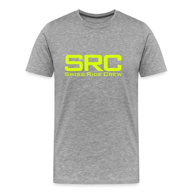 SRC T-Shirt Neongrün