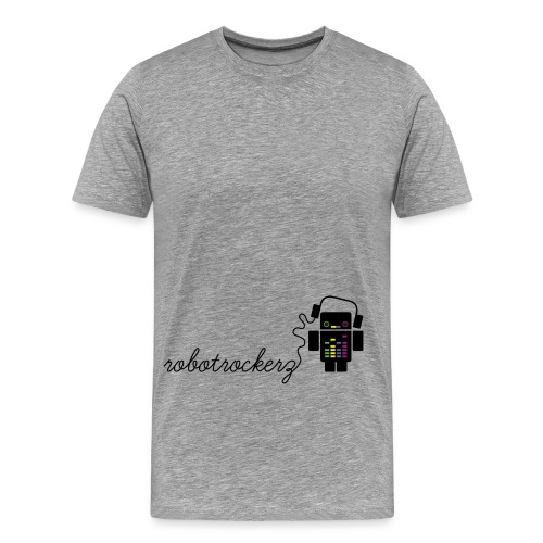 logo robotrockerz 1 - Männer Premium T-Shirt