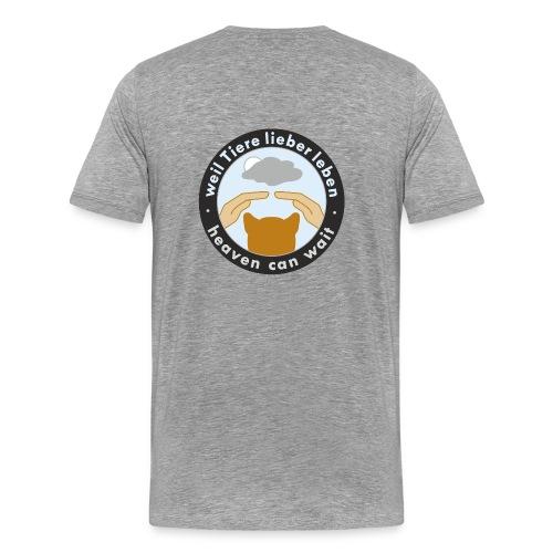 150411-kreis-schwarz - Männer Premium T-Shirt