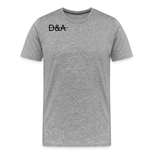 D A logo png - Herre premium T-shirt