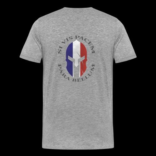 casque spartan si vis pacem03 - T-shirt Premium Homme