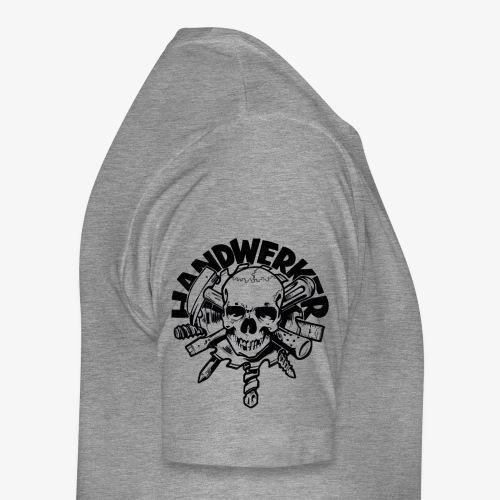 Handwerker Skull'n'Tools - Männer Premium T-Shirt