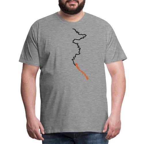 trailrunning rocks - Männer Premium T-Shirt