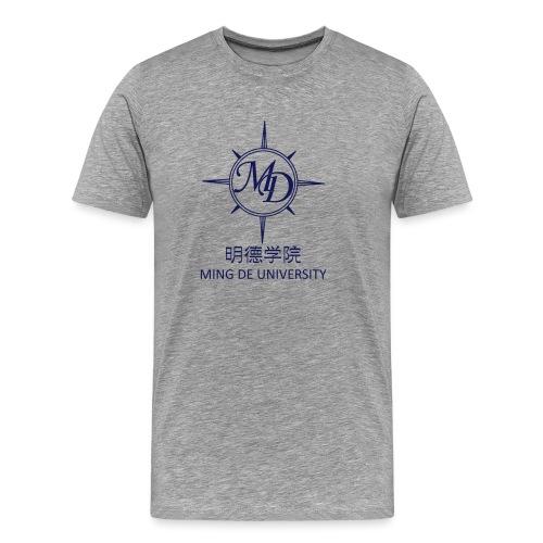 Ming De University Logo - Männer Premium T-Shirt