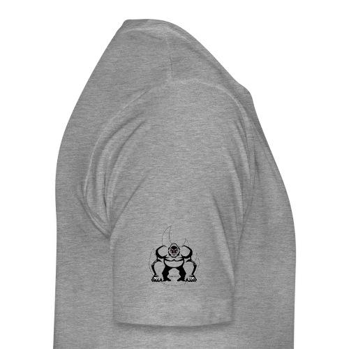 Gorilla Flame - Männer Premium T-Shirt