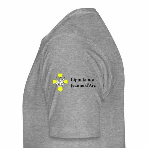Logo musta vaaka - Miesten premium t-paita