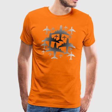 Flyet i tåken - Premium T-skjorte for menn