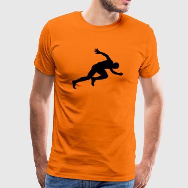 Athletics - Premium T-skjorte for menn