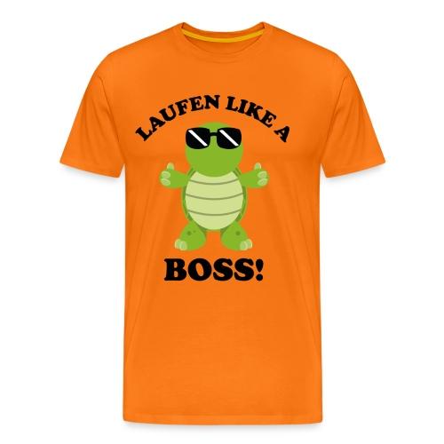Laufen LIKE a BOSS - Männer Premium T-Shirt