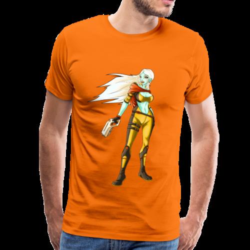 sci fi hunter - Maglietta Premium da uomo