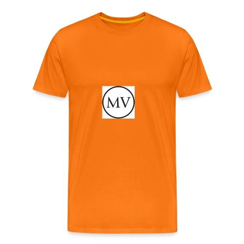 MV MrVlogs LOGO - Men's Premium T-Shirt