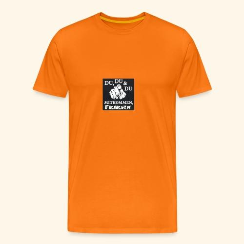 party feier spruch - Männer Premium T-Shirt