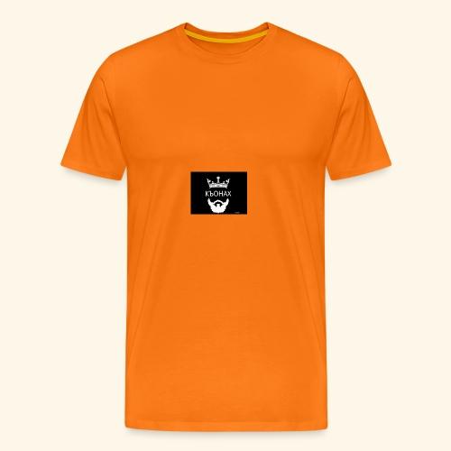 chech king - Premium T-skjorte for menn
