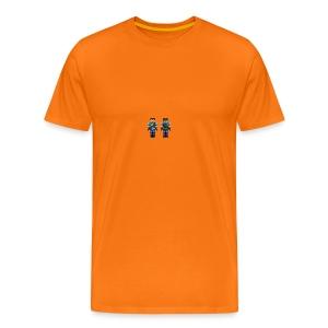 MIN MINECRAFT SKIN - Premium T-skjorte for menn