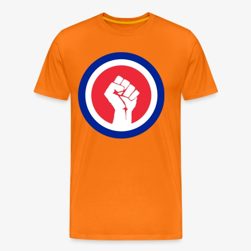 Premier logo de la LAE en grand - T-shirt Premium Homme