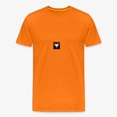 Herz Gefühl - Männer Premium T-Shirt
