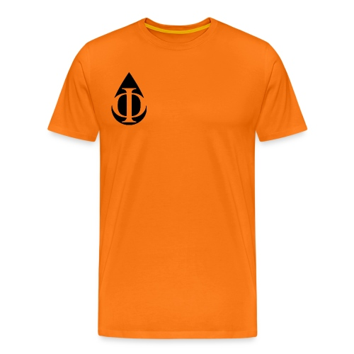 AquaPhi Logo (no-txt) - Men's Premium T-Shirt